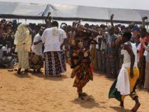 Voodoo-Festival am 10. Januar 2018 in Ouida, Benin.